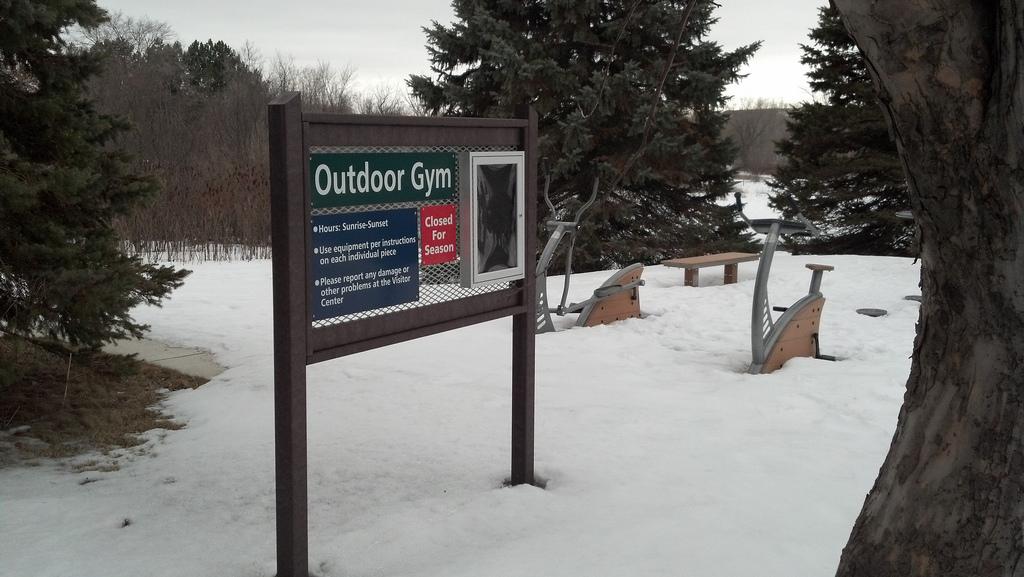 gym at hyland