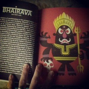 bhairava illustration