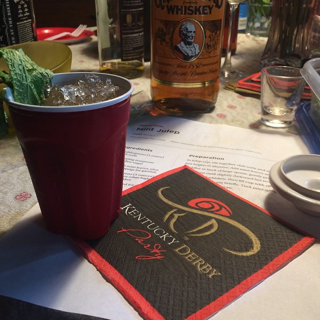 still life with julep recipe