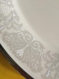 Snow Lily china pattern