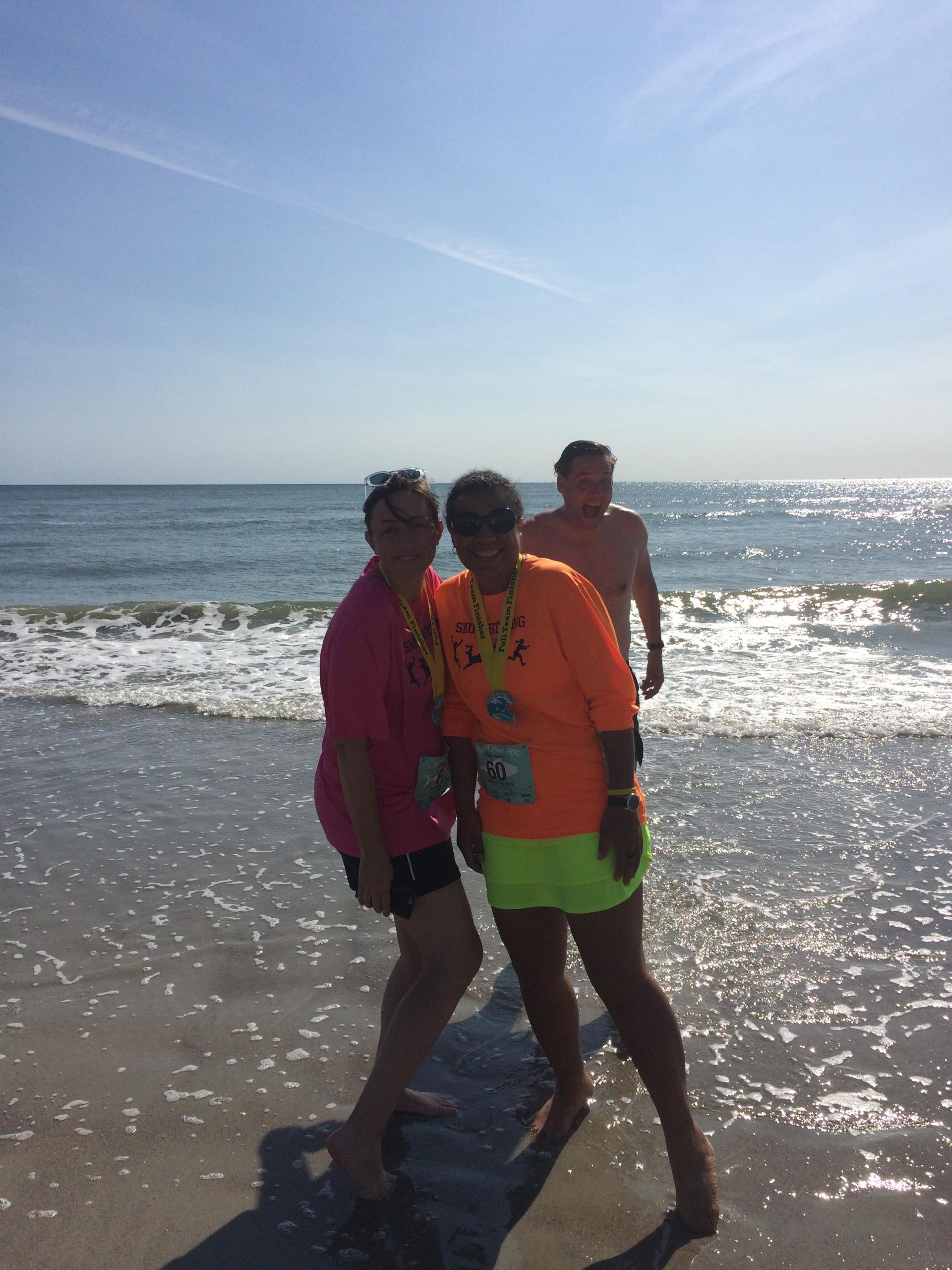 friends at Atlantic Beach, NC