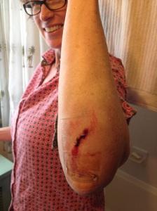 Elbow cut