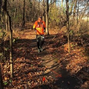 Trail running bryann