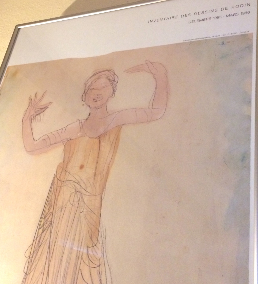 Apsara dancer by Auguste Rodin