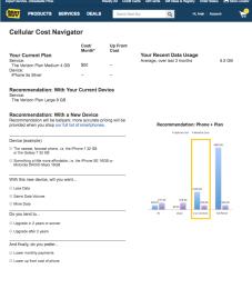 Plan Recommender Concept Design 4