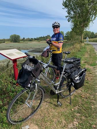 Steve and 2 rental bikes