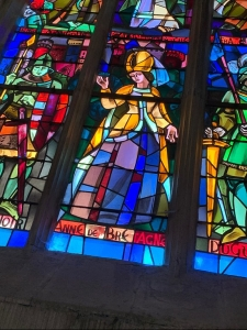 Dinan Cathedral stained glass